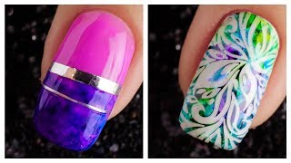 New Nail Art Design 2019 ❤️💅  Compilation For Beginners  Simple Nails Art Ideas Compilation 52