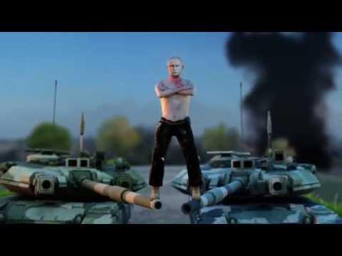 The Epic Ukraine Split feat. Vladimir Putin