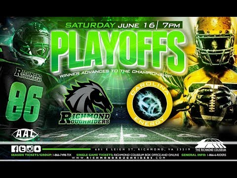 Carolina Energy Vs Richmond RoughRiders