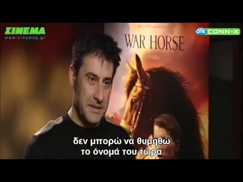 Tom Hiddleston speaking greek w Benedict Cumberbatch   War Horse interview