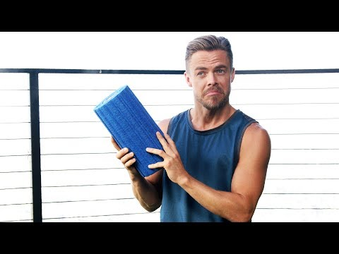 Derek Hough's Post Workout Routine  Life in Motion