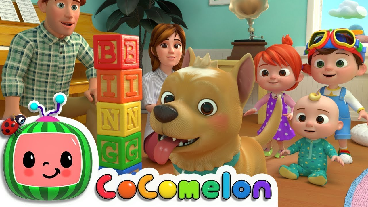 Bingo | CoComelon Nursery Rhymes & Kids Songs