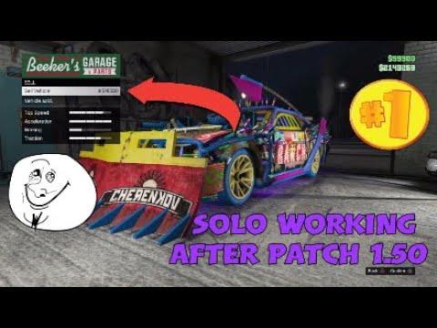 GTA5 Online *SOLO* Unlimited Money Glitch Car Duplication Glitch Working After Patch 1.50