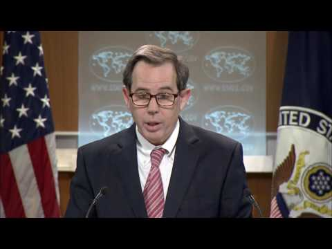 State Department Briefing on Syria with Acting Assistant Secy Jones