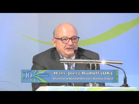 Hans Joerg Rudloff at Rhodes Forum 2012