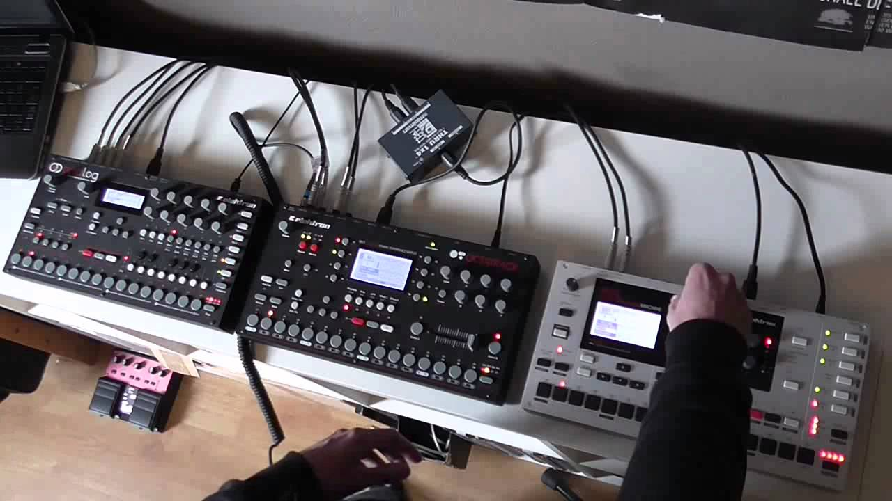 elektron monomachine analog four machine loop ambient deep youtube. Black Bedroom Furniture Sets. Home Design Ideas