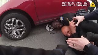 Body camera video: man allegedly stabs Pittsburg cop