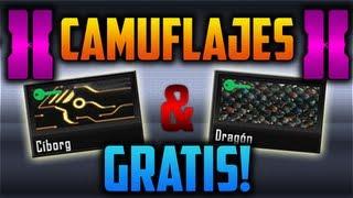 ¡¡ Camuflajes Dragon & Cyborg (De Pago) Gratis !! - Tutorial COD Black Ops 2 [XBOX,PS3]