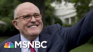 Rpt: Rudy Giuliani Said To Be Under Investigation For Ukraine Work | The Last Word | MSNBC