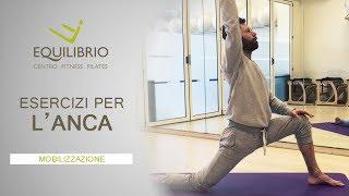 Esercizi di pilates per alleviare il dolore all'anca e alla schiena.seguendo questi brevi video potrai portare comodamente a casa tua, os...