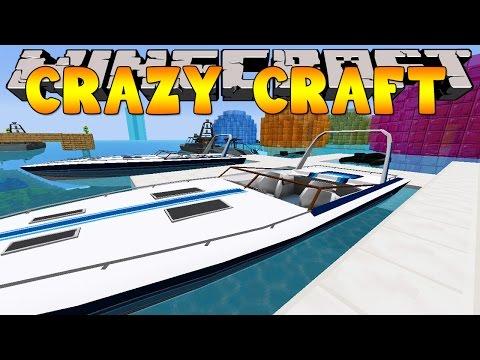 Minecraft Crazy Craft 3.0 : EPIC SPEED BOATS #45