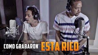 """Marc Anthony, Will Smith & Bad Bunny Grabando """"Esta Rico"""" en El Estudio (The Making Of Esta Rico) HD"""