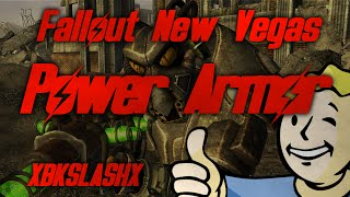 Fallout New Vegas - Power Armor Training