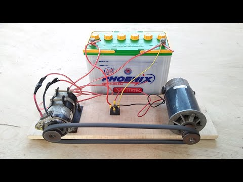 Amazing Free Energy Generator Battery Charger Recycling Free Electricity #Experiment Diy Projects