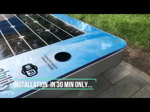 Smart Solar Bench sCITY single