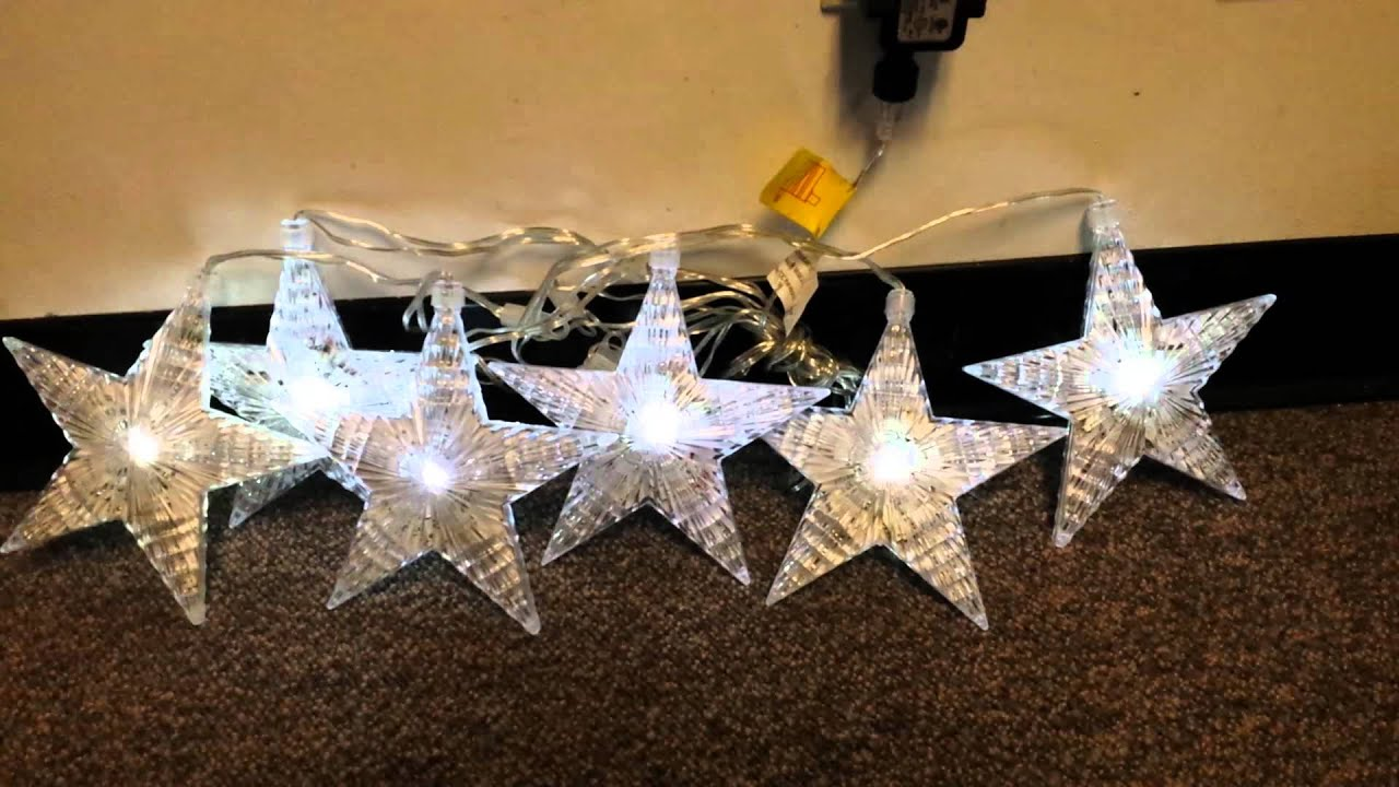 philips cascading led christmas star string lights