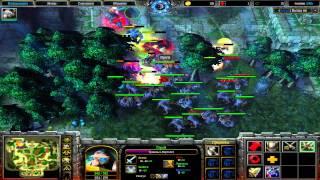 Создатель учит играть в Heroic Town Warcraft 3