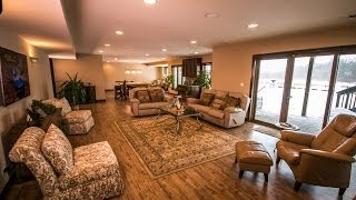Before & After: Custom Ranch Home Gets Basement Remodeled