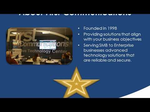 First Communications How UCaaS Can Improve Your Bottom Line Webinar 06 13 17