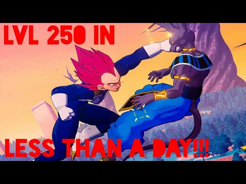 How to get level 250 in less than a day |