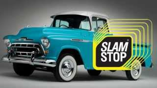 Доводчик двери на Chevrolet Task Force 1957 – Дотяжка автомобильных дверей SlamStop(Доводчик автомобильных дверей SlamStop: http://slam-stop.com.ua/about Обеспечивает автоматическое, плавное закрытие двери..., 2015-04-08T08:50:33.000Z)