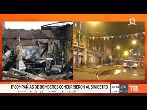 Incendio En Valparaíso Deja 20 Personas Damnificadas