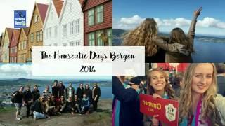 Ommen op de Hanseatic Days in Bergen 2016