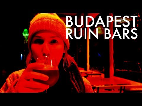 Budapest Ruin Bars   Night Out In Hungary