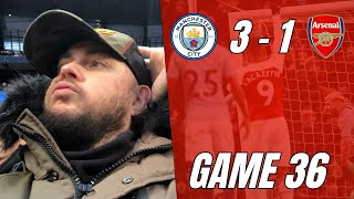 Man City 3 vs 1 Arsenal - I'm Fed Up Of Watching Awful Performances Like That - Matchday Vlog