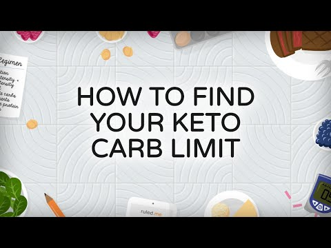 How To Find Your Keto Carb Limit [Daily Net Carbs]