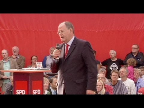 Germany: Merkel challenger Steinbrueck accuses Chancellor of 'lulling country to sleep'