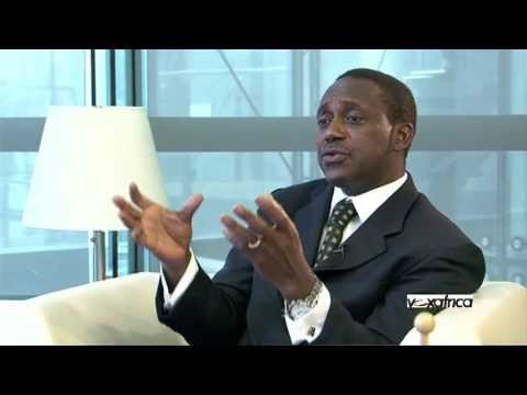 Kandeh Yumkella is interviewed by VoxAfrica Tv