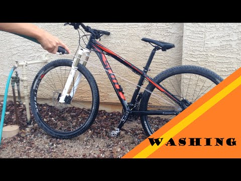 How to wash/clean a mtb