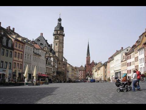 Spielkartenstadt Altenburg in Thüringen im April