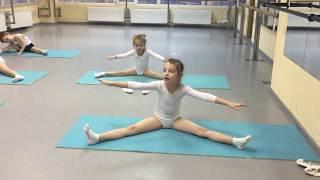 Открытый урок балета. Балет для самых маленьких.