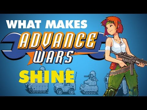 What Makes Advance Wars Shine - Game Analyst