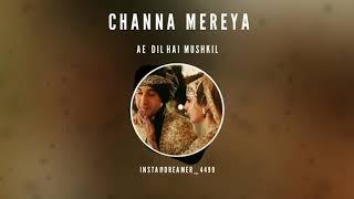 Channa Mereya Bgm - Ae Dil Hai Mushkil | Hindi Movie 2016