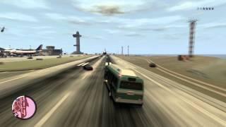 GTA IV Bus Drifting