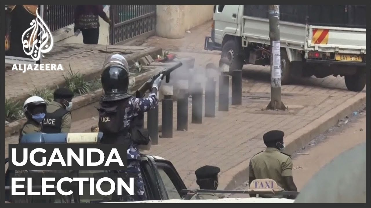 Uganda's most violent election in history comes to a close