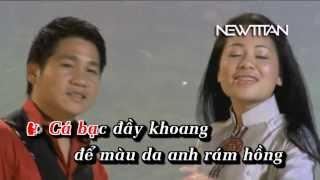 [DVD Karaoke] Tình ta biển bạc đồng xanh - Anh Thơ ft Trọng Tấn HD
