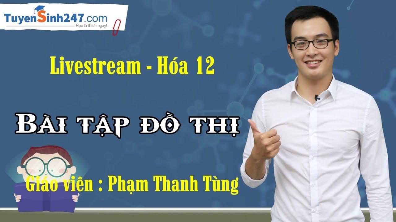 Bài tập đồ thị – Hóa 12 – Thầy Phạm Thanh Tùng