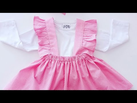 Çocuk etek dikimi ve kolay fiyonk yapımı. Easy sewing for baby skirt, girl skirt and making bow