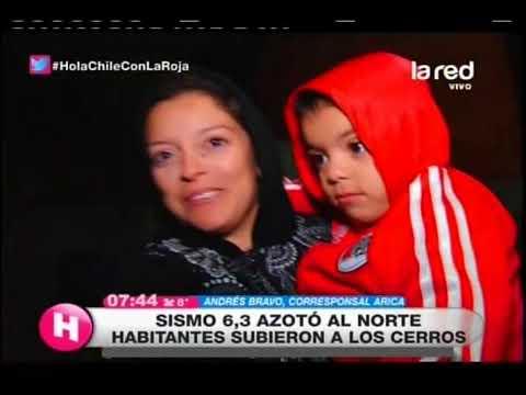 Habitantes de Arica y Parinacota sienten temor: Sismo de 6,3 azotó a la zona y ya van 12 réplicas