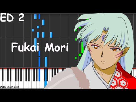 Inuyasha  Fukai Mori Piano midi