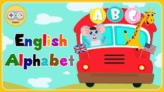 Учим алфавит английский для детей в стихах - Учим буквы * мультик игра
