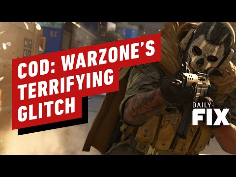 CoD: Warzone's Terrifying New Glitch Introduced in Latest Update - IGN Daily Fix