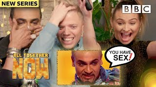 REACTING TO THE TV SHOW WE'RE ON #1 W/ Talia Mar, Rob Beckett, Singing Dentist - All Together Now
