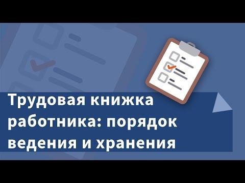 Трудовая книжка работника: порядок ведения и хранения, образцы записей о приеме на работу, переводе