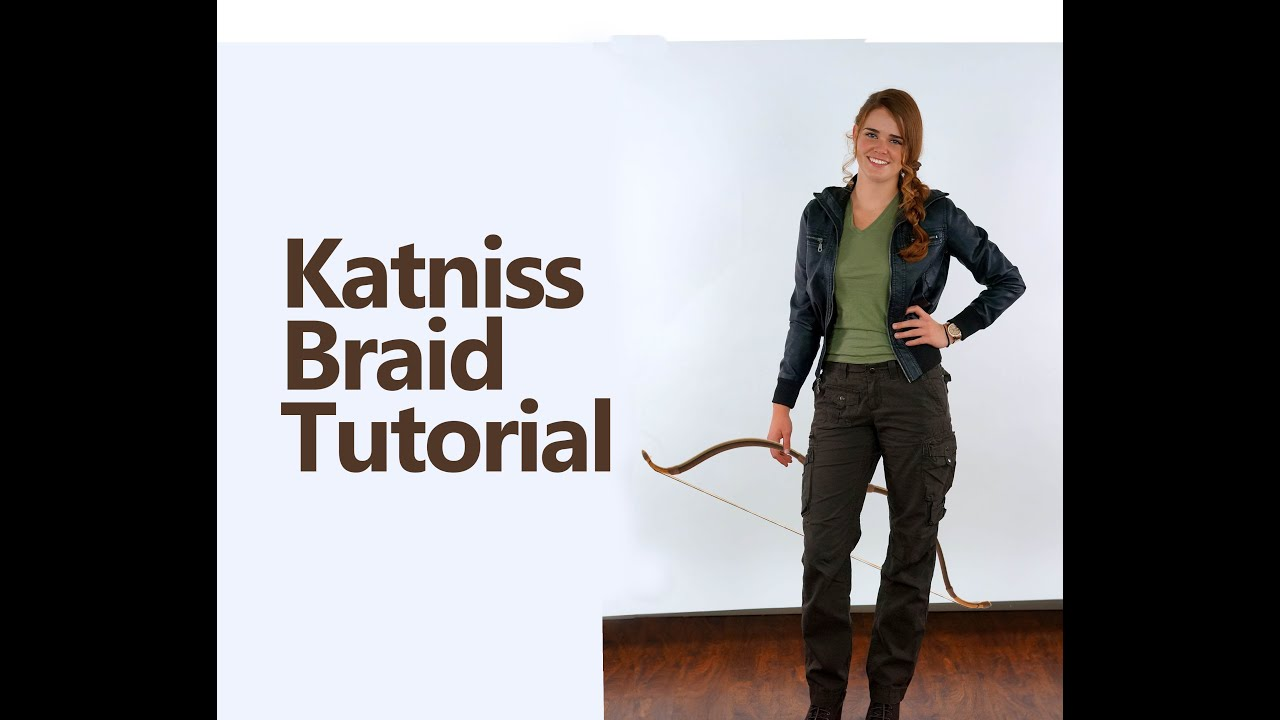 Diy katniss braid and costume youtube diy katniss braid and costume solutioingenieria Gallery