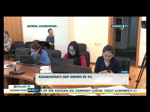 Kazakhstan's GDP grows by 4%